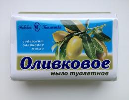 """Мыло туалетное твердое Невская косметика """"Оливковое"""""""