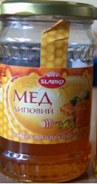 Мёд липовый натуральный цветочный Sladko