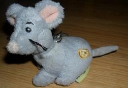 Мышка-подвеска на кроватку Gulliver с вибрирующим хвостом, 10 см