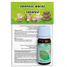Эфирное масло эвкалипта + запарка «Thermalis»
