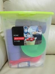 "Набор для пикника на 6 персон ""Picnic"" Plast Team арт. 9066"