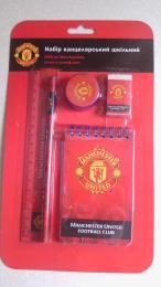 Набор канцелярский школьный  Manchester United MU14-147K
