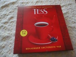 Набор листового чая и чайных напитков Tess в подарочной упаковке