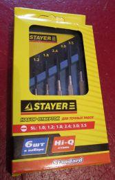 Набор отверток для точных работ Stayer 2560-H6_z01