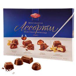 """Набор шоколадных конфет АВК """"Ассорти"""" молочный шоколад со вкусом оригинальных десертов"""