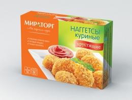 """Наггетсы куриные """"Мираторг"""" хрустящие"""
