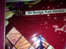 Наклейки для ногтей 3D Design Nail Stiсker