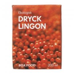 Напиток брусничный IKEA Dryck lingon сокосодержащий