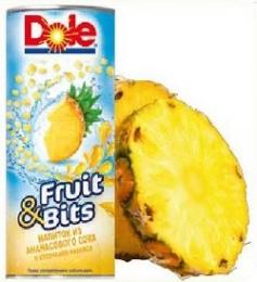 Напиток Dole Fruit & Bits из ананасового сока с кусочками ананаса
