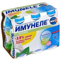 "Напиток кисломолочный с соком ""Имунеле"" Neo Вимм-Билль-Данн"