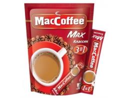 Напиток кофейный растворимый 3 в 1 MacCoffee Max классический