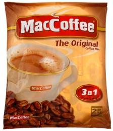 Напиток кофейный растворимый MacСoffee 3 в 1 в пакетиках The original