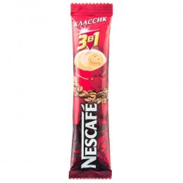 Напиток кофейный растворимый Nescafe 3 в 1 Классик