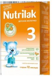 """Напиток молочный сухой Nutrilak 3 """"Детское молочко"""" старше 12 месяцев"""