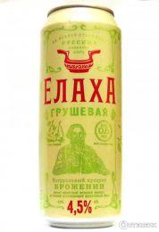 Напиток слабоалкогольный Елаха грушевая