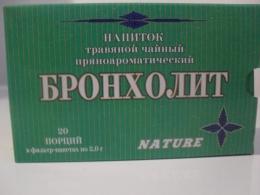 """Напиток травяной чайный пряноароматический """"Бронхолит"""""""