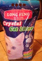 Наполнитель для кошачьего туалета Long Feng Crystal Cat Litter