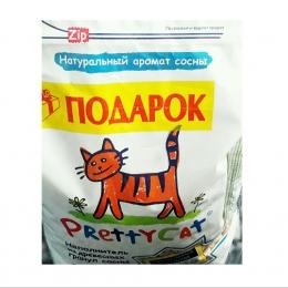 Наполнитель древесный для кошачьего туалета Pretty Cat натуральный аромат сосны