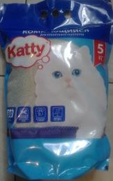 """Наполнитель для кошачьего туалета """"Katty"""" комкующийся"""