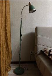 Напольный светильник Artstyle HT-851 GRN Зелёный + никель