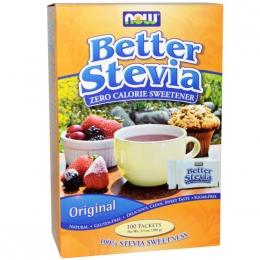"""Натуральный подсластитель """"Better stevia, zero calorie sweetener"""" Now Foods"""