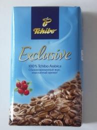 Натуральный жареный молотый кофе Tchibo Exclusive Arabica