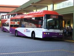 Наземный общественный транспорт в Сингапуре