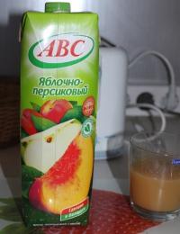 "Нектар ""ABC"" яблочно-персиковый"