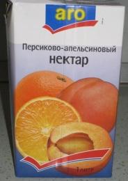 Нектар Aro Персиково-апельсиновый