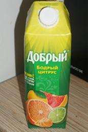 "Нектар ""Добрый"" Бодрый цитрус"