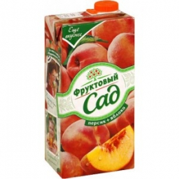 """Нектар """"Фруктовый сад"""" персик + яблоко"""