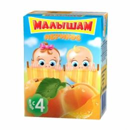 """Нектар для детей """"Малышам"""" абрикос с 4 месяцев"""