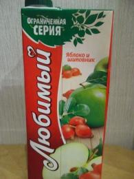 """Нектар """"Любимый сад"""" яблоко и шиповник"""