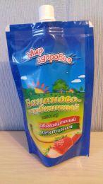 """Нектар """"Мир здоровья"""" бананово-клубничный, обогащенный пектином"""