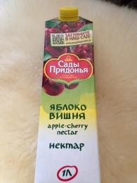 """Нектар """"Сады Придонья"""" Яблоко вишня"""