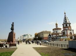 Нижняя набережная Ангары (Иркутск)