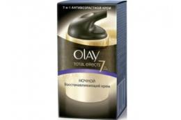 Ночной восстанавливающий крем Olay Total Effects 7-в-1 антивозрастной