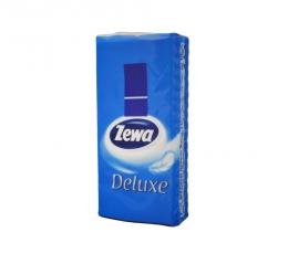 Носовые платки 3-слойные неароматизированные Zewa Deluxe