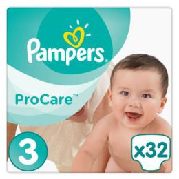 Подгузники Pampers ProCare