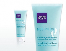 Питательный крем для ног Dr.Pierre Ricaud Nus Pieds Gommage Moelleux