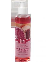 Очищающий гель для умывания Fresh juice с белым нектарином и грейпфрутом
