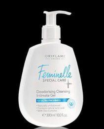 Очищающий гель Feminelle special care Deodorising Cleansing Intimate Gel Oriflame 23646
