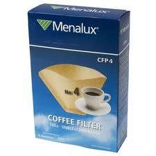 Одноразовые фильтры для кофеварок Menalux CFP4