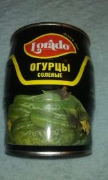 Огурцы соленые Lorado