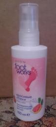 """Охлаждающий лосьон-спрей для ног Avon Foot Works Красивые ножки """"Цитрус и мята"""""""