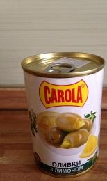 Оливки с лимоном Carola