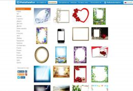 Online фоторедактор photofacefun.com