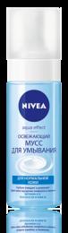 Освежающий мусс для умывания NIVEA Aqua Effect