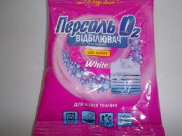 """Кислородный отбеливатель без хлора """"Персоль О2"""" White для белых тканей"""