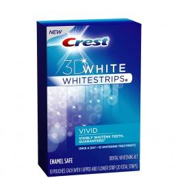 Отбеливающие полоски для зубов Crest 3D White Vivid